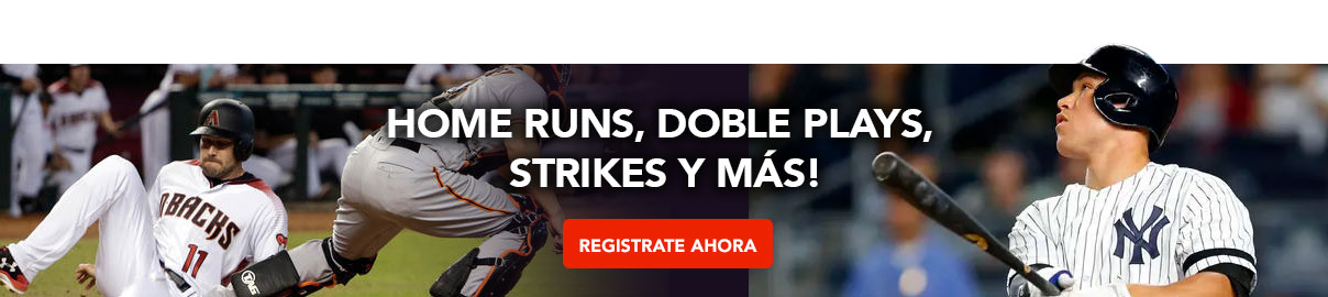 Home runs, doble plays, strikes y más!